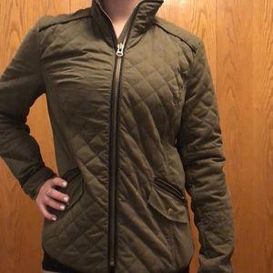 KUT green jacket, medium adult